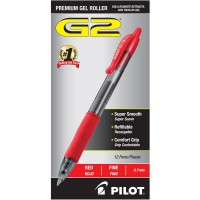 PILOT PEN G2 PREM.GEL 7MM RED